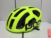 Wholesale New Fashion Road Bikes - POC New Cycling Helmet Ultralight Bicycle Helmet Road Bike Safety Helmet Head Protector Riding Accessoriest Male Female General M 54-60CM