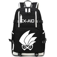 Wholesale Boy Stories - Masked Rider backpack Kamen EX Aid daypack Hero story schoolbag Anime rucksack Sport school bag Outdoor day pack