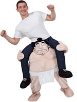 Wholesale Wacky Funny - Cartoon characters Funny Wacky pants Stuffed Ride On Me Stag Mascot Carry Piggyback Fancy Dress Costume Funny Wacky pants