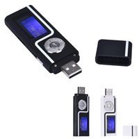 Wholesale mp3 player sales 16gb for sale - HOT SALE fashion Portable USB MP3 Music Player Digital LCD Screen Support GB TF Card Slick stylish design Sport Compact