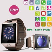 Wholesale Facebook Messaging - Bluetooth Smart Watches DZ09 Smartwatch For Android Phone Clock Support Facebook Whatsapp SD SIM