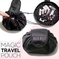 Wholesale Cosmetics Makeup Bags - vely lazy cosmetic bag Drawstring Wash Bag Makeup Organizer Storage Travel Portable Cosmetic Bag Pouch LJJK765