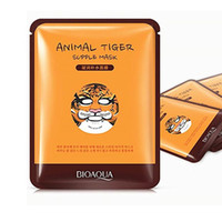 Wholesale Nourish Cleaner - 2017 New BIOAQUA Tiger Panda Sheep Dog Shape Animal Face Mask Moisturizing Oil Control Hydrating Nourishing Facial Masks