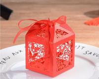 décorations de fête papillon bébé achat en gros de-Bébé douche Creative papillon bébé faveurs boîte de bonbons cadeau boîtes faveurs articles de fête décoration de mariage grand amour Heard