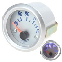 Wholesale Temperature Meter For Cars - New 2 Inch 52mm 40~120 Celsius Degree Water Temperature Meter Gauge with Sensor for Auto Car CEC_512