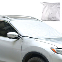 Wholesale Sun Foil - Window Foils Windshield Sun Shade Car Windshield Visor Cover Front Rear Window Sunshade UV Protect Car Window Film with Magnet