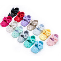 Wholesale Toddler Size 12 Leather Shoes - Kid Girl Shoes Soft Bottom Baby Leather Toddler Children Newborn Shoes Size 11 12 13 Embroid Love 13 COlors DHL Fast Shipping