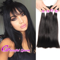 Cheap Mink Brazilian Virgin Hair Straight 4 Bundles Offres Brazilian Straight Hair Weave Soft Natural Hair Extensions 8-26 Pouces Dyeable