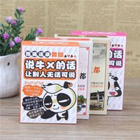 Wholesale Female Entertainment - , dialect, panda souvenir, funny collection, playing cards, folk culture, entertainment, gift giving, Sichuan