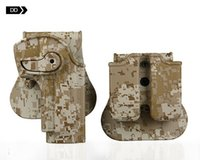 Wholesale Tactical gun holster for M92 M95 holster airsoft gun hunting AT camouflage camo