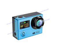 camcorder hdmi großhandel-Neue H3R H3 Ultra 4 Karat HD 2 zoll 170 ° HDMI WIFI Action Kameras Dual Screen Wasserdichte Sport Kamera + Fernbedienung DV DVR Helm Camcorder DHL