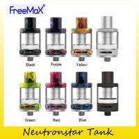 Wholesale Tank Refill - Authentic FreeMax NeutronStar Tank 2.0ml Resin Design Top Refilling Vape Atomizers For Original NeutronStar Coils 100% Genuine 2257007