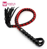 Wholesale Sexy Furniture Toy - Sex Toys 99cm Soft PU Leather Spanking Paddle Fetish Whip Flogger Sex Product for Couples Sexy Adult Games Flirt Sex Furniture