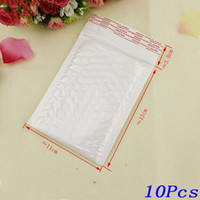 Barato Bolha Dos Sacos Do Correio-10pcs 130 * 110MM White Pearl Film Bubble Envelope Courier Bags Waterproof Packaging Mailing Bags