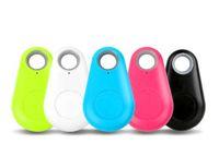 key finder оптовых-Новый мини беспроводной смарт GPS локатор анти-потерянный датчик сигнализации Bluetooth Tracker Finder itag для детей домашние животные сумка кошелек брелок
