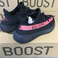 Wholesale Boys Ski Boots - ORIGINALS Y BOOST 350 V2 CBLACK BY9612 NOIESS ROUGE NOIESS RUNNING SHOES KANYE WEST SPLY 350 MENS SNEAKERS SPORTS SHOES FOR BOYS