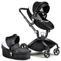 guarda-chuva de carro portátil venda por atacado-Atacado-Europeu Folding Luxo Baby Umbrella Car Carriage Kid marca Buggy Stroller Pram Estilo Vagão de Viagem portátil Leve hotmom