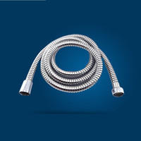 Wholesale Stainless Steel Chrome Shower Hose Bathroom Replacement Anti Twist Hoses Safety Water Flexible Pipe Tube Explosion Proof gy A