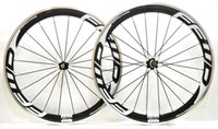 Wholesale Novatec Road Bicycle Hubs - Free shipping 700C 50mm depth 23 mm width alloy brake surface carbon wheels clincher road bicycle wheelset with Novatec 271 372 hubs