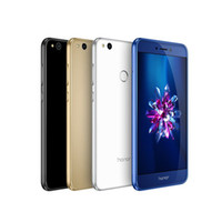 "Wholesale Blue Czech Glass - Original Huawei Honor 8 Lite Mobile Phone Kirin 655 Octa Core 4GB RAM 32GB 64GB ROM Android 7.0 5.2"" Dual 2.5D Glass 12MP Fingerprint Phone"