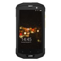 Wholesale Gps Shock - IP68 Waterproof 5.0 inch 4G Phones Original AGM A8 EU Version Quad Core 3GB 32GB Cell Phones 13.0MP Smartphone Water Dust Shock Proof
