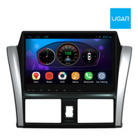 Wholesale Toyota Yaris Gps Navigation - 10.2 inch Toyota Vios Yaris 2014-16 Quad Core 1024*600 Android Car GPS Navigation Multimedia Player Radio Wifi