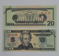Wholesale Money banknote USD20 for props and Education bank staff training paper fake money copy money children gift