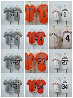 Wholesale Boys Shorts George - Youth Houston Astros 1 Carlos Correa 4 George Springer 27 Jose Altuve 34 Nolan Ryan Baseball Jersey White Gray Orange