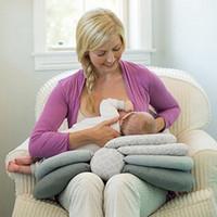 Wholesale Nursing Pad Washable - Nursing Pillow newborn Breastfeeding pad Multifunctional Detachable Infant Baby Boppy Pillow Crawling Sitting Learning Pillow Epact freeship