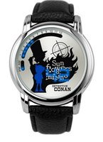 Wholesale Conan Watch - 2017 Detective Conan touch screen LED waterproof watch animation touch screen watch
