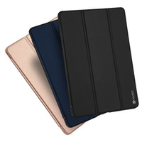 Wholesale M3 Air - For New iPad Air 2 Skin Smooth Feel Slim Smart Case PU Leather Tablet Stand Cover With Retail Package For iPad 6 Mini 4 Huawei MediaPad M3