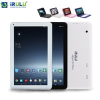 "Wholesale Android Tablet 16gb Gps - US Stock! iRULU 10.1"" eXpro 1Plus Tablet Google GMS Android 6.0 Lollipop Tablet PC 8G 16G Quad Core Bluetooth With Keyboard"