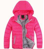 chaquetas de ropa de las muchachas al por mayor-Ropa de abrigo para niños, niño y niña, invierno, abrigo cálido con capucha, ropa para niños, chamarras, chaquetas de niños, entre 3 y 12 años.