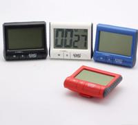 ingrosso volume verso il basso-Timer da cucina digitale Big Digital LCD Timer magnetico Count Down Up Volume Clock posteriore regolabile Timer spegnimento automatico KKA1599