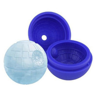 Wholesale Silicone star wars ice cube tray molds Chocolate Cake Cube Mold Falcon Creative Death Star Ice Cube Mold Round Cocktails Ball