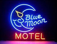 sinal de luz de néon da lua azul venda por atacado-17
