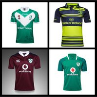 Wholesale Lions Shirt Xl - 2017 Champion Ireland NRL Camouflage Rugby jerseys 2017 RWC NRL Super 2017 2018 Irish lion Leinster Rugby jersey Shirt Free shipping