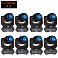 Wholesale Cheap Spot Lighting - Cheap Price 8 Pack LED 150W Spot Gobo WASH Moving Head Light Stage DJ Lighting LED Screen Display Phase X Y Motor Fast Silent Movement
