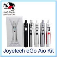 Wholesale Ego Body - Joytech eGo AIO Starter Kit 2.0 ml Capacity 1500 mAh Body Anti-Leaking Structure Childproof tank lock DHL Free