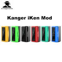 Wholesale Data Show - Original Kangertech iKEN 230W TC Vape Mod Built-in 5100mAh Battery 1.54 Inch TFT Screen Shows Vaping Data Beginner Intermediate Expert Mode