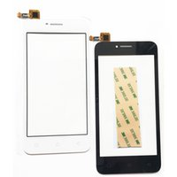 Wholesale lenovo glass screen replacement - Wholesale- Touch Screen For Lenovo Vibe B A2016a40 A2016 Touch Screen Digitizer Panel Sensor Front Glass Lens Replacement
