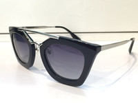 fashion sunglass venda por atacado-Luxo 09Q marca designer de óculos de sol para as mulheres acetato de moda retro óculos de sol com caso quadro oculos De Sol Masculino feminino