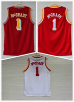 Wholesale 2017 Men Tracy McGrady Black Blue White Red basketball Jerseys Throwback mesh quot point quot quot s Retro Embroidery Stitched with name