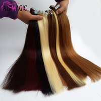 "Wholesale Cheap Taped Hair Extensions - Best Skin Weft Tape In Human Hair Extensions 100% Peruvian Straight Remy Human Hair 18"" 20"" 22"" 24"" 100g 40pieces Factory Outlet Cheap"