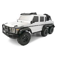 11 rc batterie großhandel-Großhandels-Qualität HG P601 1/10 2.4G 6WD RC Crawler RTR Spielzeugauto Geländewagen für Kinder