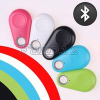 Wholesale Lost Key Finder Keychain - Smart Tag Wireless Bluetooth 4.0 Tracker Child Wallet Key Keychain Finder GPS Locator Anti Lost Alarm Itag Alarm Reminder Tracker opp bag