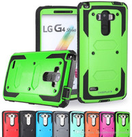 Wholesale Clip For Waterproof Cases - Shell Armor Shockproof Waterproof hybrid Case With Belt Clip and Screen Cover For LG AristonMS210 C40 LS770 V10 C90 K7 G5 K10 Stylus 2 LS775