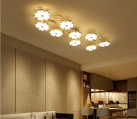 blossom ceiling light - Modern led ceiling lights plum blossom Ceiling Lighting Fixtures bedroom light flush mount ceiling lights creative design AC85 V