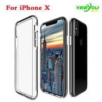 Wholesale Galaxy Goophone - Crystal Clear case Soft Silicone Transparent TPU Cover for iPhone 7 8Plus 6S Plus Samsung Galaxy Note 8 S7 edge Goophone i7 Plus