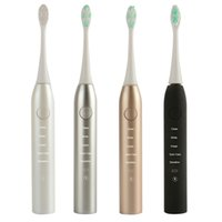 Wholesale Battery Powered Toothbrushes - Electronic Power Rechargeable Battery Electric Toothbrush with Bluetooth Connectivity Cepillo de dientes for Superior Plaque Removal